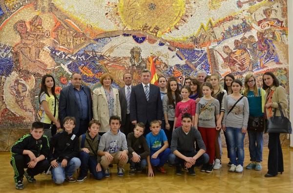 Obisk v Makedoniji