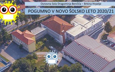 Navodila za prvi šolski dan OŠ DBB Hrpelje